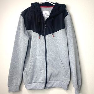 Montfort Gray Trekking Zip Up Jacket NEW M